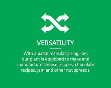 Versatility - RUTF manufacturers India
